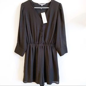 NWT Nordstrom Collective Concepts Black Romper